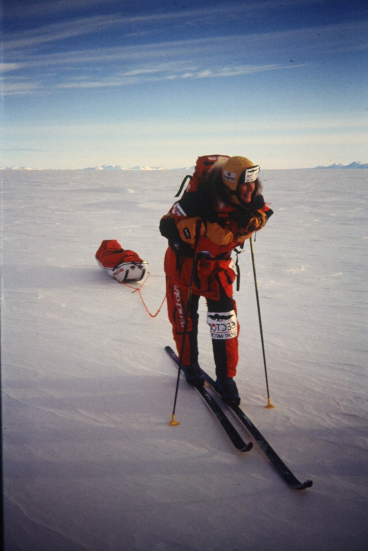 Liv Arnesen, first woman to ski solo to South Pole