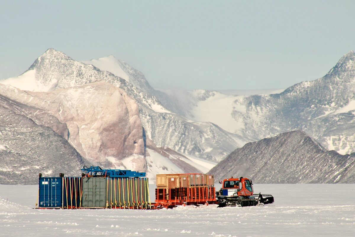 68 tonne of cargo delivered to Sub-glacial Lake Ellsworth