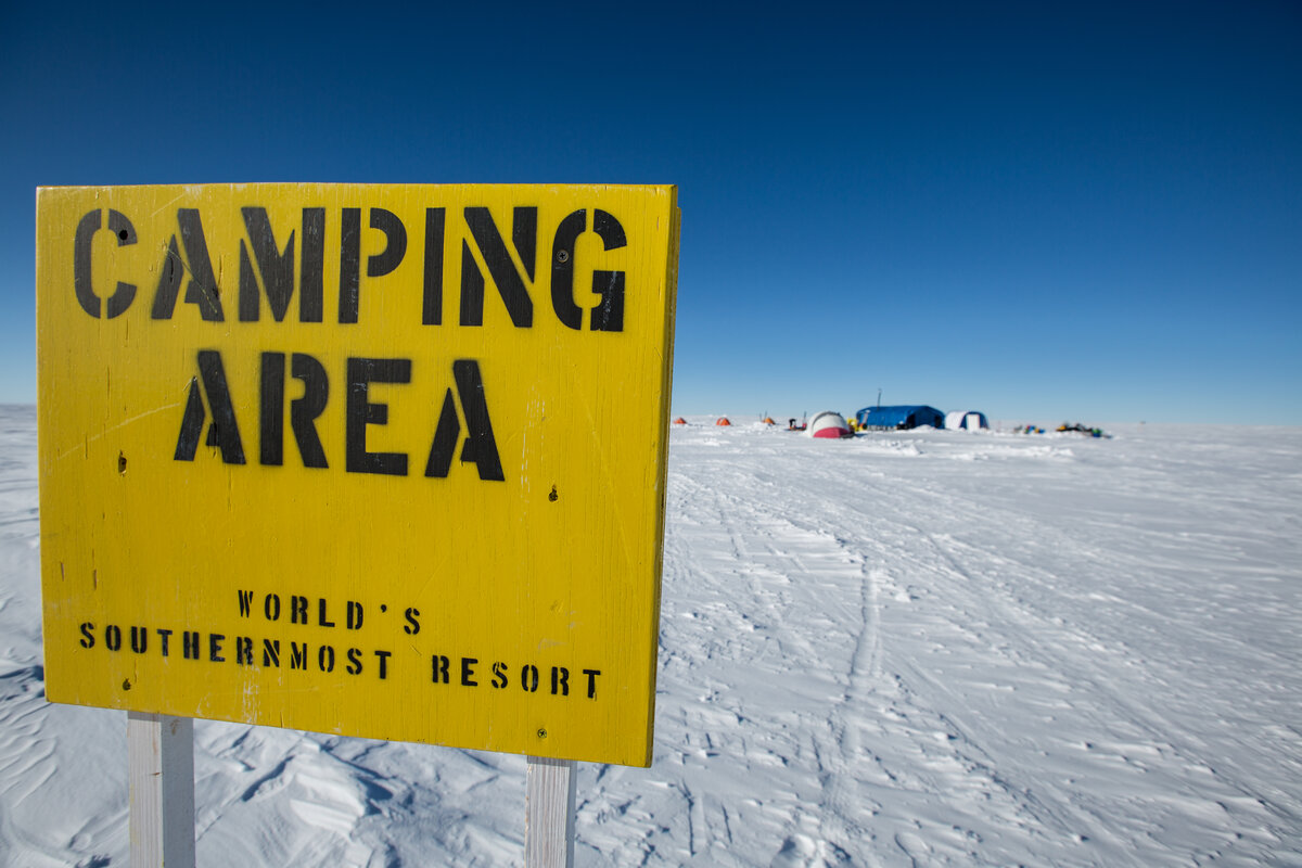 ALE's South Pole Camp, the 'World's Southernmost Resort'