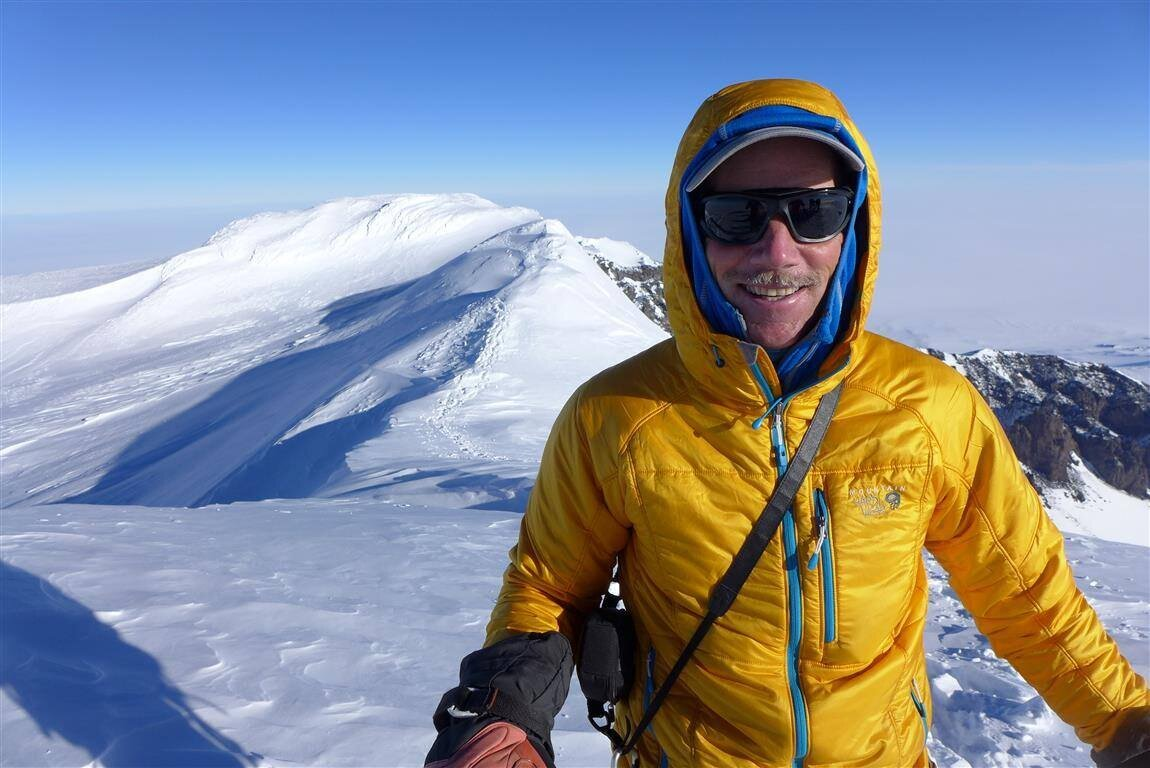 First guided ascent of Mount Sidley, Antarctica's highest volcano