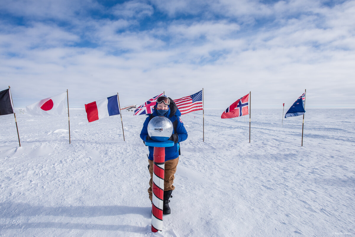 An ALE Medic accompanies all South Pole flights