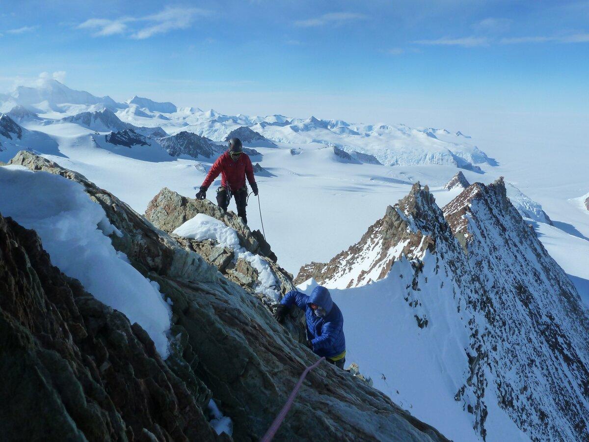 Mount Liptak first ascent