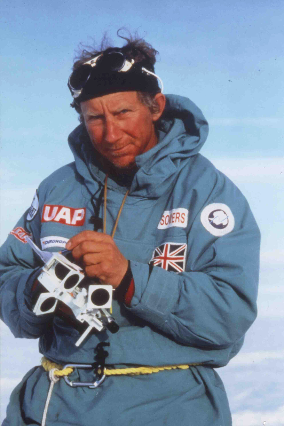 1990 International Trans-Antarctica Expedition. First non-mechanized crossing of Antarctica