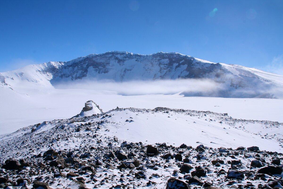 Mount Sidley 14,058 ft (4285 m) is Antarctica's highest volcano