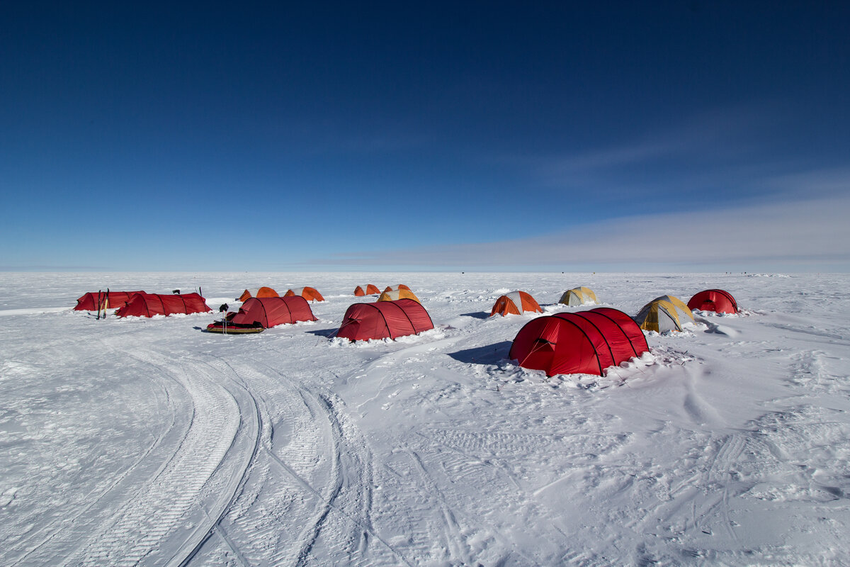 Expedition sleeping tents