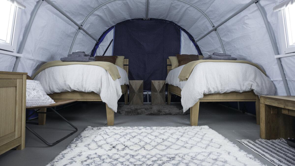 Three Glaciers Twin Room