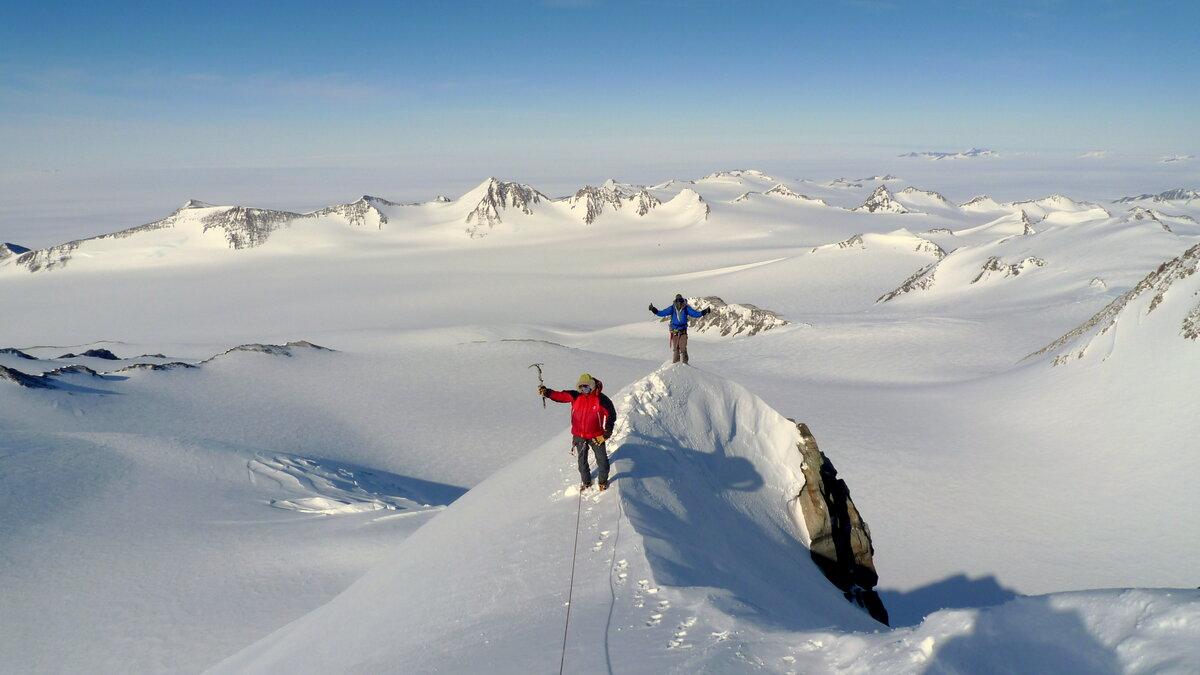 First ascent of Mount Sporli